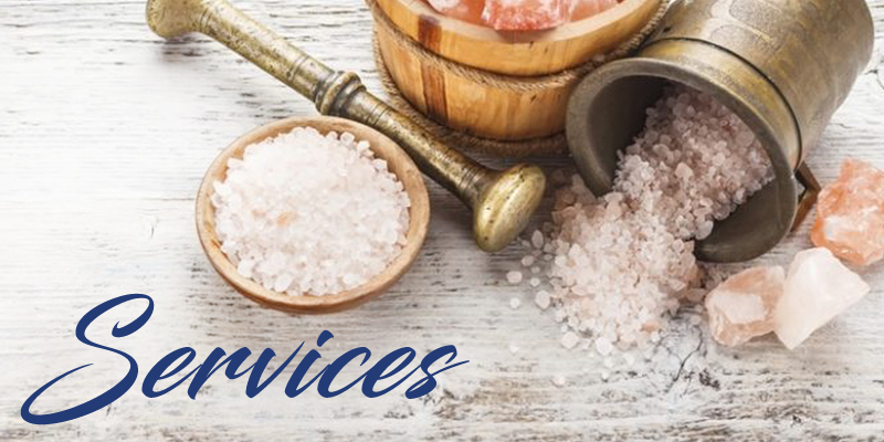 Salt Works Spa-Services